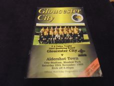 Gloucester City v Aldershot Town, 1995/95 [FAT]